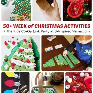 50+ Week of Christmas Activities for Kids + The Kids Co-Op Link Party