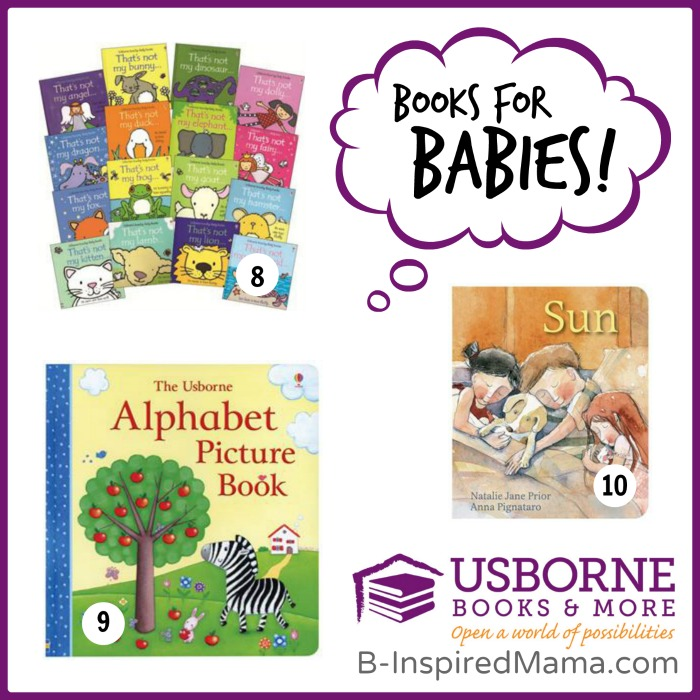 B-Inspired Mama's Favorite Children's Books for BABIES at B-Inspired Mama