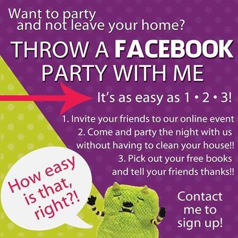 Throw a Facebook Party to Earn Free Usborne Books  - with B-Inspired Mama