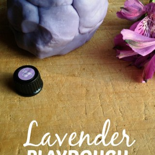 Soothing Lavender Playdough Recipe