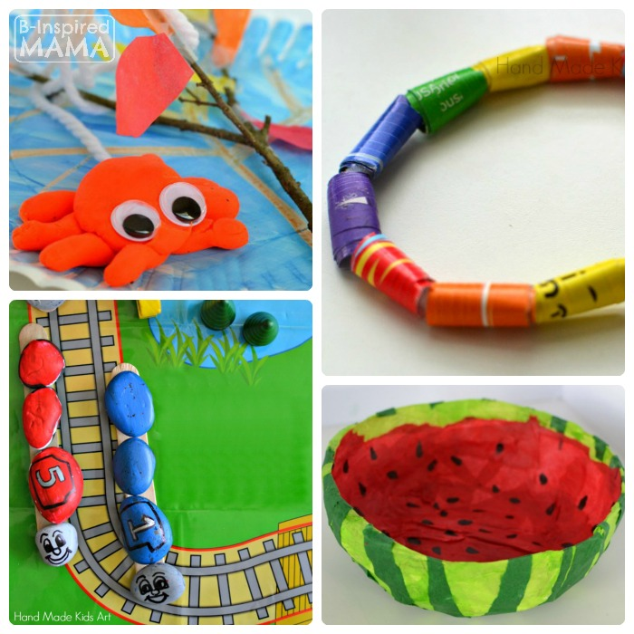 Charming Creative Art And Craft Ideas For Kids Part - 5: Creative Kids Sculpture Art Projects From Hand Made Kids Art - B-Inspired  Mama