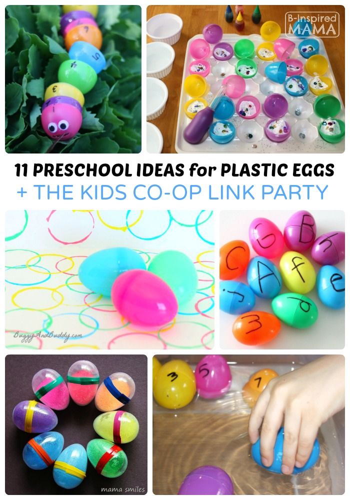 11 preschool easter activities using plastic eggs