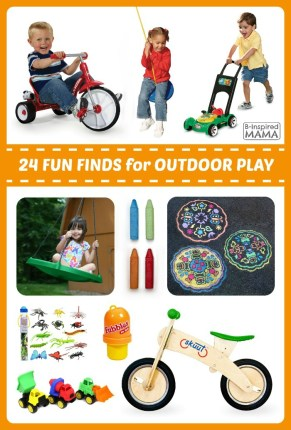 24 Fun Finds for Kids Outdoor Play at B-Inspired Mama