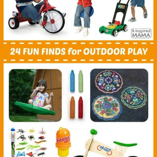 24 Fun Finds for Kids Outdoor Play