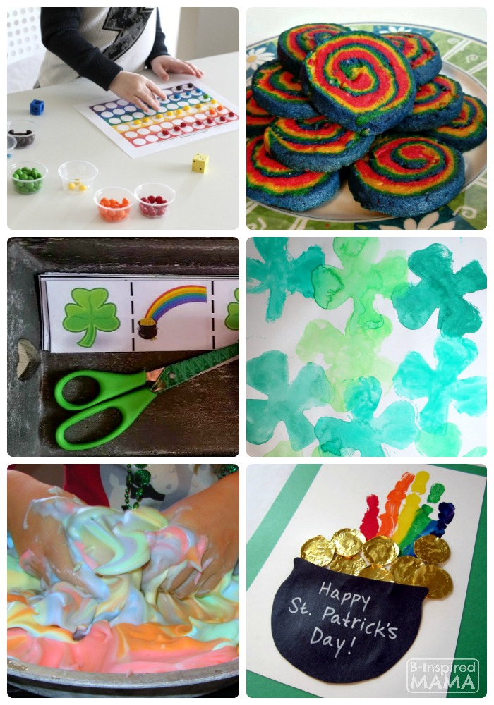 A Guide to a Fun St. Patrick's Day Playdate for Kids + The Kids Co-Op Link Party at B-Inspired Mama