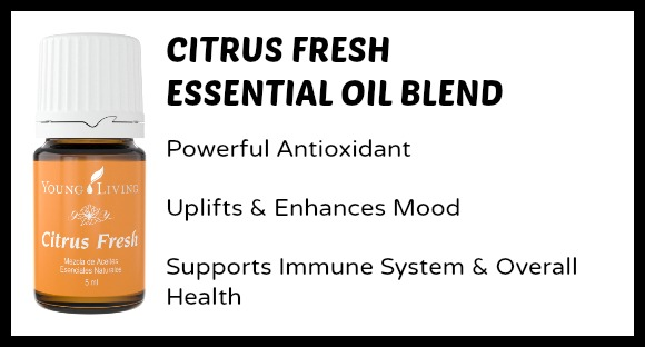 Citrus Fresh Essential Oils Uses for Moms and Kids at B-Inspired Mama