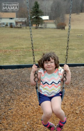 Priscilla Swinging + More Playground Playdate Ideas with Gymboree and B-Inspired Mama