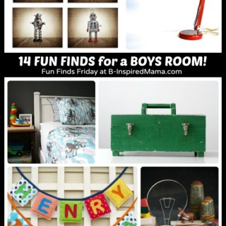 14 Fun Finds – Cool Boys Room Ideas