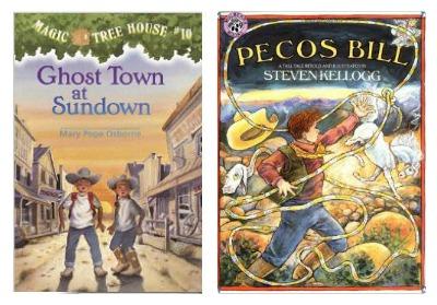Books to Supplement Your Wild West Playdough Fun - B-Inspired Mama