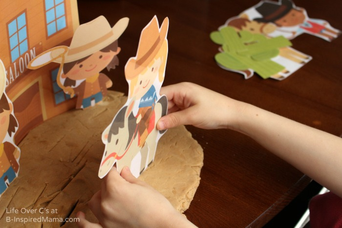 Kids Play - Wild West Playdough Fun with Playdough Printables at B-Inspired Mama