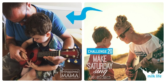How to #MilkLife and Connect with Your Kids - Connecting with Music - at B-Inspired Mama