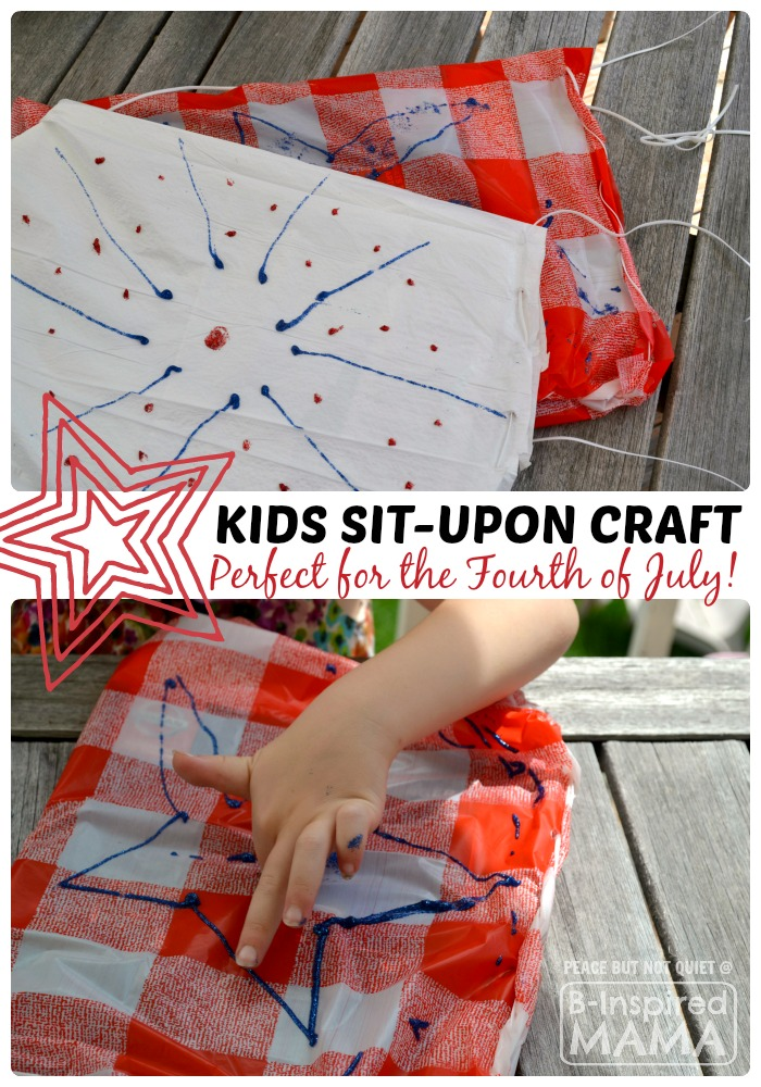 Patriotic Sit-Upon Kids Craft
