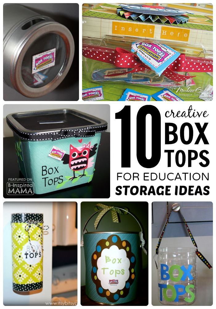 10 Creative Box Tops Storage Ideas