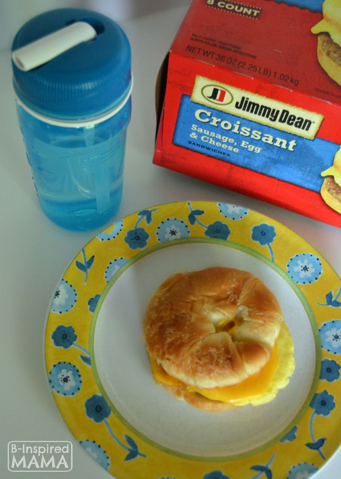 18 Back to School Morning Routine Hacks + Jimmy Dean Breakfast at B-Inspired Mama
