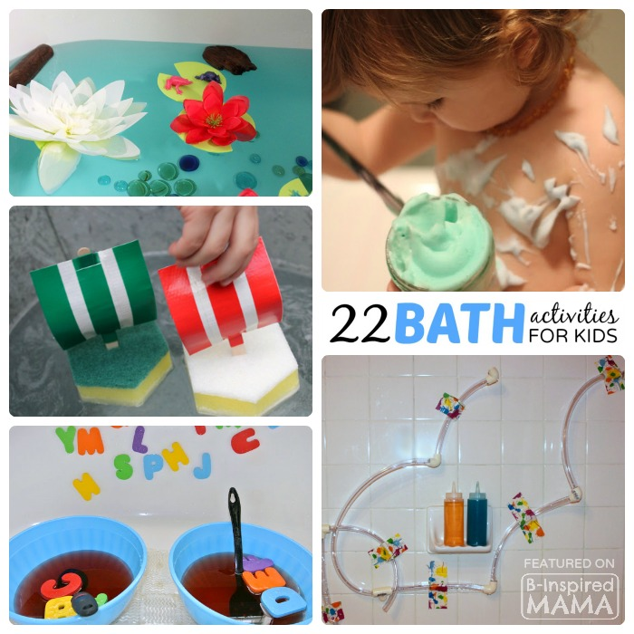 22 Kids Activities to Make Bath Time Fun