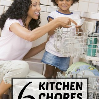 6 Kitchen Chores for Kids + A Savings Offer