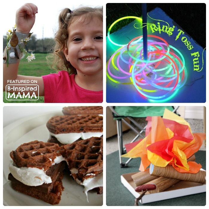 Clever Hacks for Camping with Kids - Sponsored by Banana Boat - B-Inspired Mama