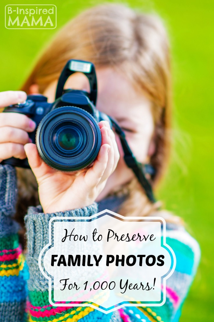 The Best Way to Store Digital Photos - at B-Inspired Mama
