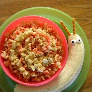 Silly Cereal Snail Breakfast Idea