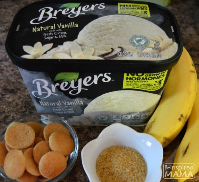 Ice Cream Banana Pudding - With Breyers Natural Vanilla - B-Inspired Mama