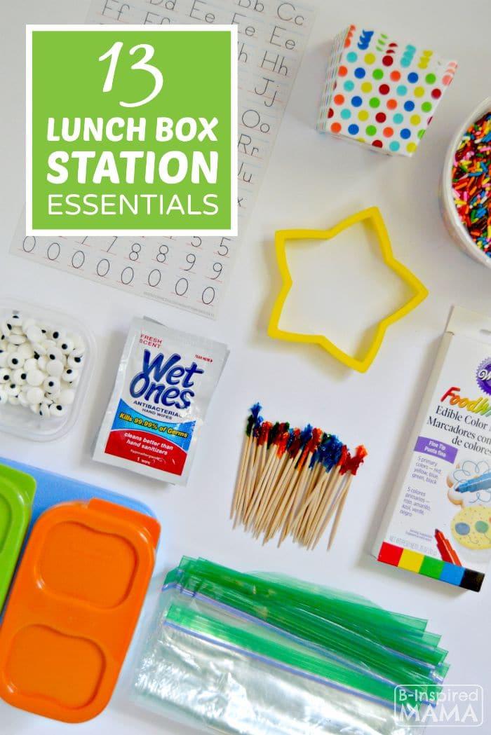 13 Lunch Box Station Essentials