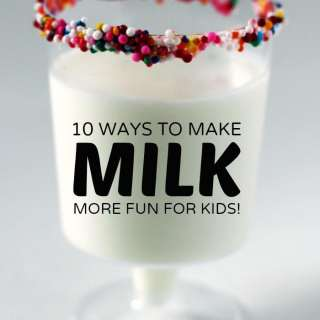 10 Awesome Ways to Make Drinking Milk Fun for Kids