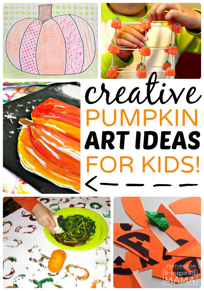 Creative Pumpkin Themed Art for Kids