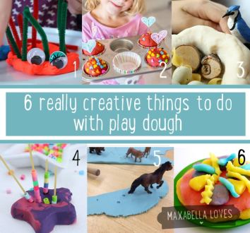Creative Things to Do with Play Dough