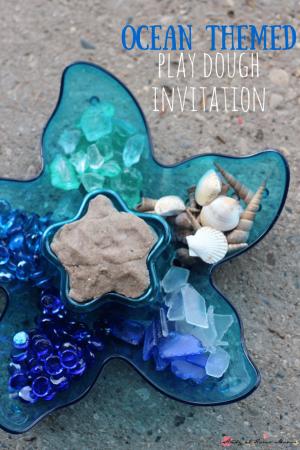 Ocean Themed Play Dough Kit
