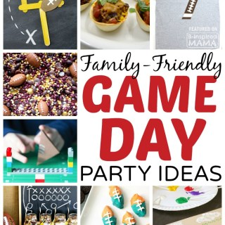 9 Family-Friendly Football Game Day Party Ideas