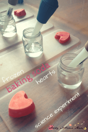 Fizzy Baking Soda Hearts Valentines Activity