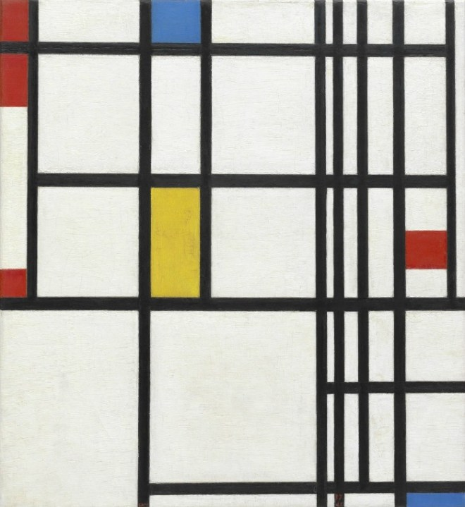 Mondrian + 3 Kids Art Projects Inspired by Art History - at B-Inspired Mama