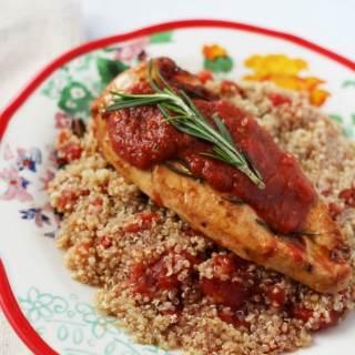 Skillet Tomato Rosemary Chicken Recipe