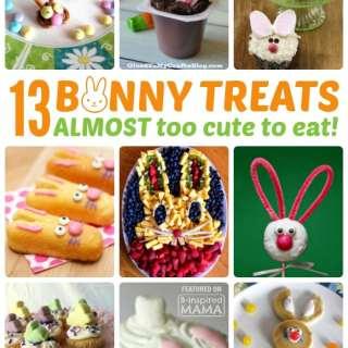 13 Adorable Bunny Themed Easter Treats