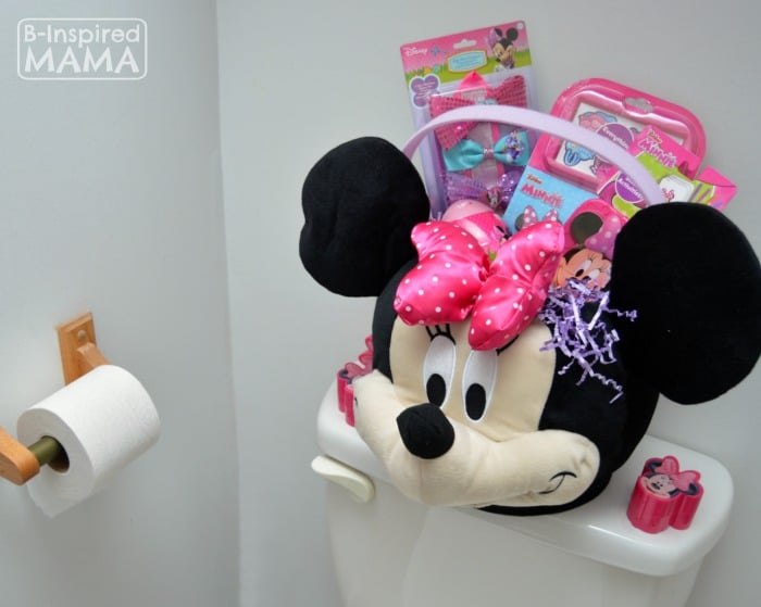 Fun Easter Basket Traditions - Silly Hiding Spaces - at B-Inspired Mama