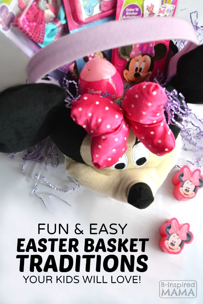 Fun and Easy Easter Basket Traditions - at B-Inspired Mama