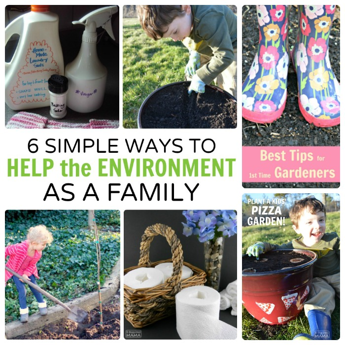 6 Simple Ways to Help the Environment - as a Family - sQUARE