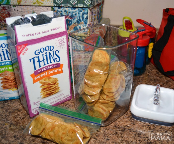 A Simple After School Snack Hack - You'll Wish You'd Known About Sooner - Featuring the New GOOD THiNS - at B-Inspired Mama
