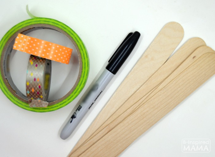 DIY Garden Markers - Easy Enough for Kids - Supplies - at B-Inspired Mama