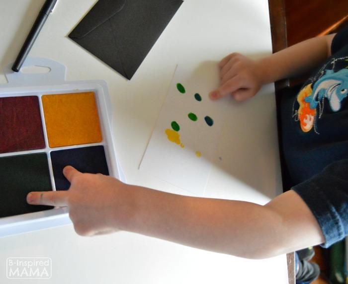 Fingerprint Flowers - Sweet Handmade Mother's Day Cards for Kids - Making Cute Little Fingerprints - at B-Inspired Mama