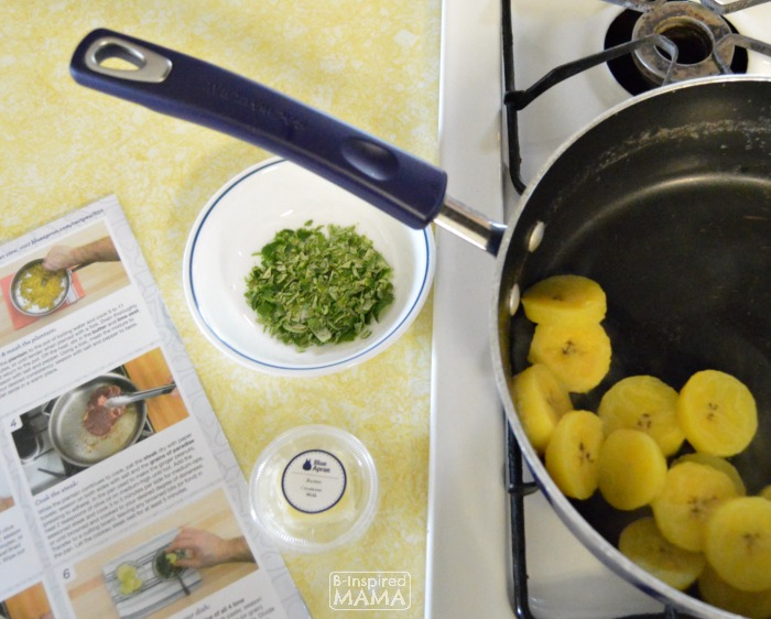 How Busy Moms can Cook Fancy Meals - A Blue Apron Review - Trying New Foods - at B-Inspired Mama
