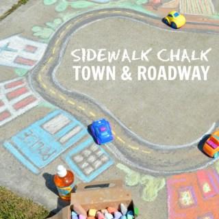 Sidewalk Chalk Art the Kids Can PLAY In – A Giant Chalk Art Town