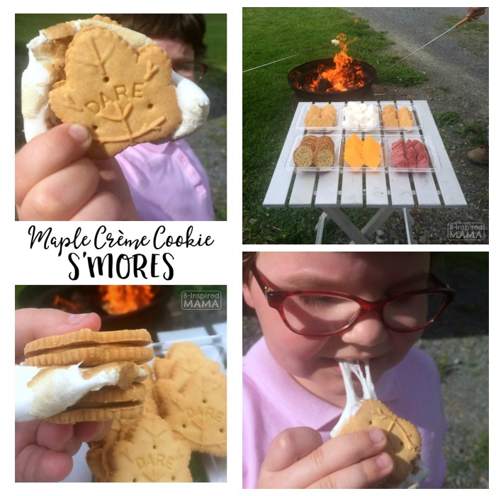 Maple Creme Cookie S'Mores