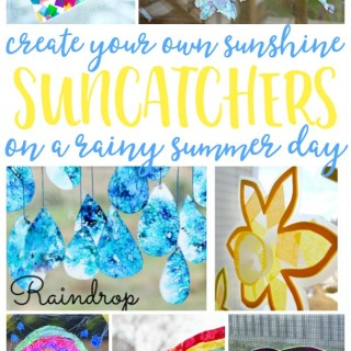 21 Suncatcher Craft Ideas for Kids – Bring Sun to a Rainy Day