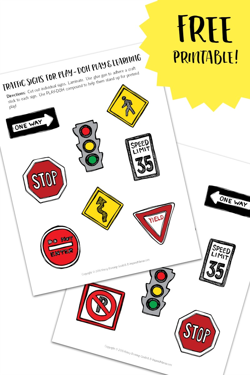free printable construction signs for kids