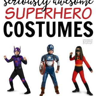 Seriously Awesome Superhero Costumes for Kids