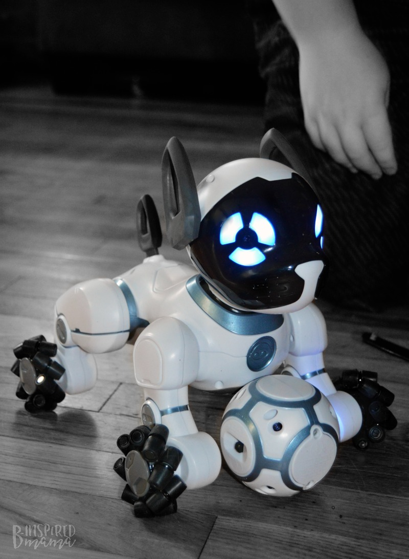 Our new pet - 2 Cool Toys your High-Tech Kids will Love - at B-Inspired Mama