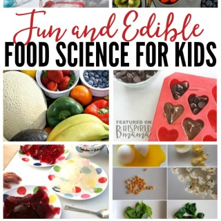 10 Fun and Edible Food Science Experiments You're Kids will Rave About