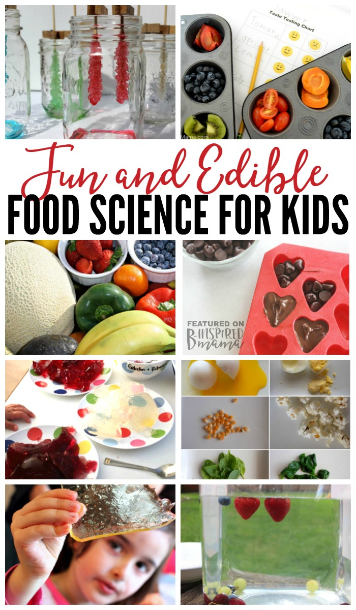 10 Super Fun and Edible Food Science Experiments for Kids - fun science activities that taste yummy, too!