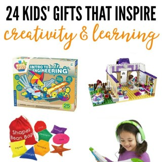 2016 Holiday Gift Guide – 24 Kids' Gifts that Inspire Creativity and Learning